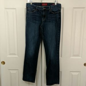 Lucky Brand straight, dark wash jeans size 10